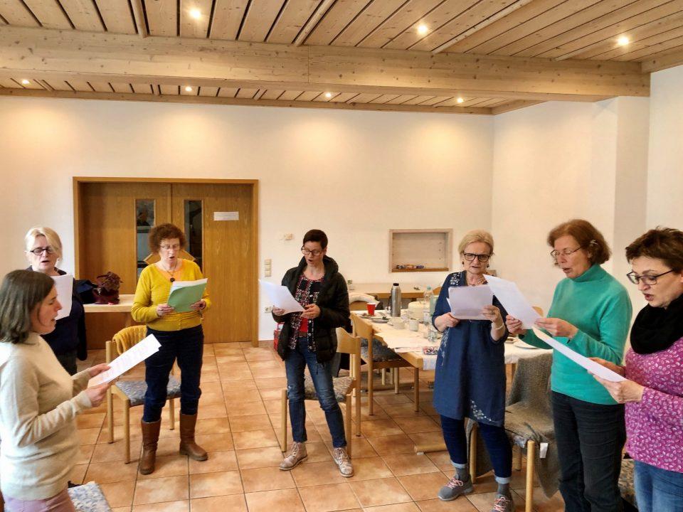 Singen mit Christiane Morley